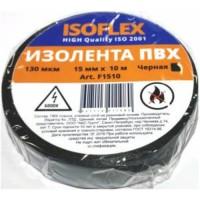 Изолента 15/10 ISOFLEX черная, F1510