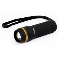 Smartbuy фонарь ручной SBF-306-3AAA (3xR03) 1св/д 3W (100lm), черный/пластик, фокусировка, zoom (1)