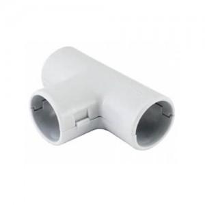 TDM тройник соед. для трубы 16 мм (5шт. за уп., цена за шт.) белый SQ0405-2021