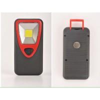 Облик фонарь ручной 1020 (3xR03) 1св/д 3W СOB (200lm), черн.+красн./пласт., удароп., магнит, крючок