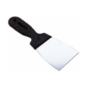 EUROTEX Шпатель 80мм нерж.сталь пластмассовая ручка, арт.20605-080