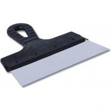 EUROTEX Шпатель фасадный 200мм нерж.сталь пластмассовая ручка, арт.20605-200