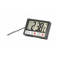 Термометр электронный REXANT комнатно-уличный с часами, 70-0505