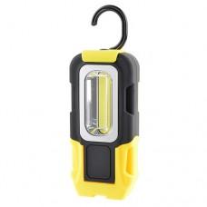 Garin фонарь ручной переносной PC-3 (3xR03) 1 св/д 3W, жёлтый+черн/пласт, крючок, магнит, 3 реж. BL