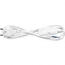 Feron Сетевой шнур с выключателем, 230V 1.9м белый, KF-HK-1 23048