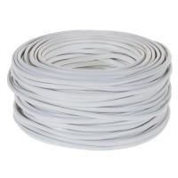 Провод ПУГНП/ПГВВП/ПУГСП 2х2,5 (бухта 50м)(ГОСТ)(РЭМЗ Рыбинск) бытовой белый гибкий