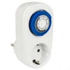 EKF PROxima таймер розеточный механический 16A суточный 30мин/24ч, кнопка вкл. SMT-48p