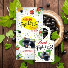Greenfield Fresh Fruits Ароматизатор-освежитель воздуха Смородина, пакет, АР-27