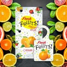 Greenfield Fresh Fruits Ароматизатор-освежитель воздуха Апельсин, пакет, АР-25