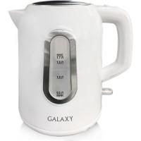 Чайник электр. Galaxy GL-0212 белый (диск, 1,7л) 2,2кВт, съемн.фильтр, внутр.подсветка