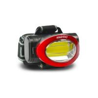 Smartbuy фонарь налобный SBF-HL020 (3xR03) 1 св/д COB 3W(100lm) 50м черный/пластик+металл, 2 режима
