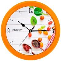 Часы настенные Energy EC-111Специи 25*3,8см (круглые)плавный ход, пластик, АА*1шт нет в компл 9484