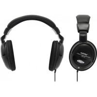 Полноразмерные наушники SmartBuy® LIVE!, 4м кабель, 50мм динамики, черные.(арт.SBE-7000)