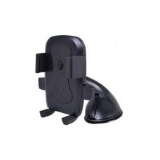 "Perfeo-516 Автодержатель для смартфона до 6""/ на стекло/ торпедо/ One touch/ супер присоска/ черный"
