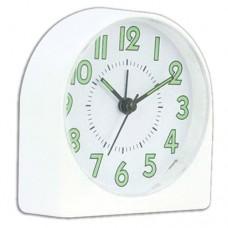 Будильник HomeStar HC-05 белый 9,6*4*10,2см, корпус пластик, АА*1шт нет в компл 3798