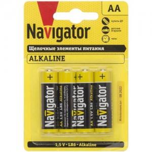 Navigator элемент питания  NBT-NPE-LR6-BP4 (4!) 61463