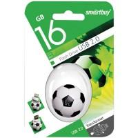 Флэш-диск USB 16Gb SmartBuy Wild Футбольный Мяч (SB16GBFB)