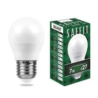 Saffit Лампа св/д, 7W 230V E27 6400K, SBG4507 55124