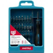 Smartbuy отвертка с битами, 32 предмета, отвертка, 30 бит, пинцет, CR-V SBT-SCBS-32P1