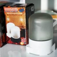 НПБ400 01-60-001 св-к влагозащ. 60W Е27 баня/сауна термопласт. белый/стекло 125°С IP65 ИУ (РБ)