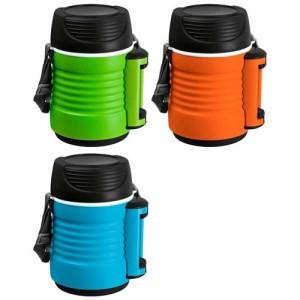 Термос-контейнер пищевой с рем-м, корп PP,1,3 л, колба - нерж ст, BELLO Mallony 74035