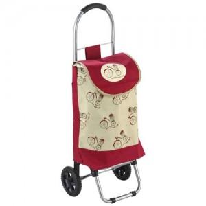 """Тележка с сумкой WR3031 """"Прогулка"""", 20 кг 93587 Рыжий кот"""