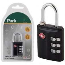 Park Замок навесной кодовый CL TSA 3 цифры, 6929
