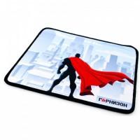 """Коврик для мыши Гарнизон GMP-145, """"супергерой"""", 250x200x3мм, ткань+резина, оверлок"""